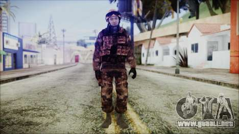 Chinese Army Desert Camo 2 para GTA San Andreas segunda pantalla