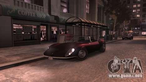 GTA V Stinger Classic para GTA 4 vista interior