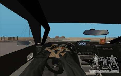 Elegy DRIFT KING GT-1 para GTA San Andreas vista hacia atrás