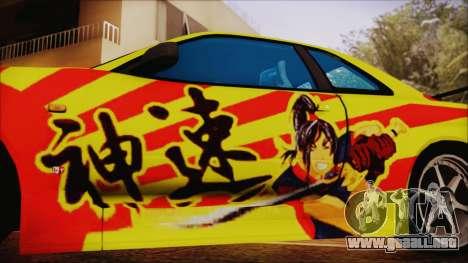 Nissan Skyline Street Racing Syndicate para la visión correcta GTA San Andreas