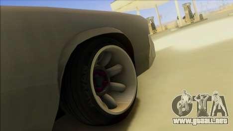 Sabre Race Edition para la vista superior GTA San Andreas