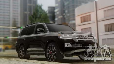 Toyota Land Cruiser 2016 para GTA San Andreas