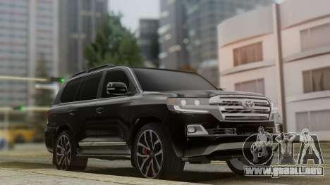 Toyota Land Cruiser 2016 para GTA San Andreas