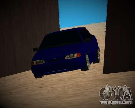VAZ-2115 para vista inferior GTA San Andreas