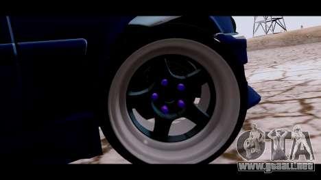 Toyota Chaser Tourer para GTA San Andreas vista posterior izquierda