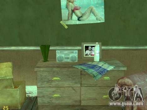 Apartamento de GTA IV para GTA San Andreas twelth pantalla