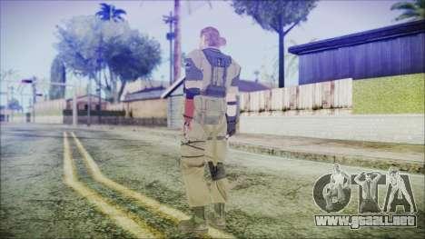 MGSV Phantom Pain Snake Normal Olive Drab para GTA San Andreas tercera pantalla