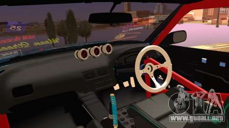 Nissan Silvia S15 DMAX para la visión correcta GTA San Andreas
