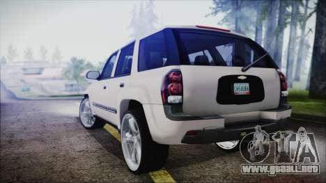 Chevrolet Triblazer para GTA San Andreas left