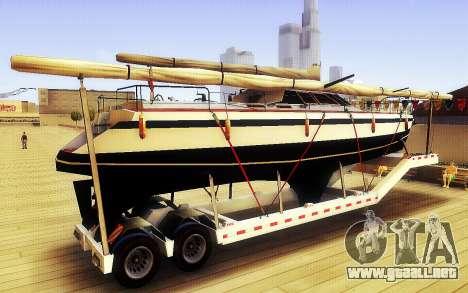 GTA V Gran Remolque del Barco para GTA San Andreas left