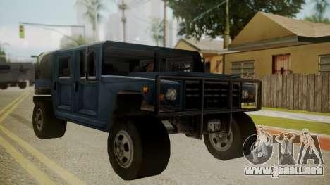 Patriot III para GTA San Andreas