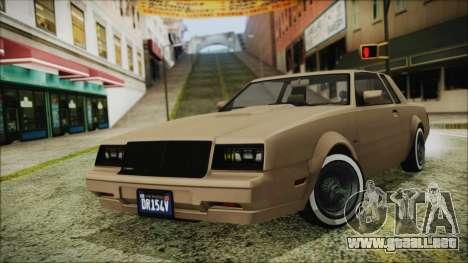 GTA 5 Willard Faction Custom Bobble Version para GTA San Andreas
