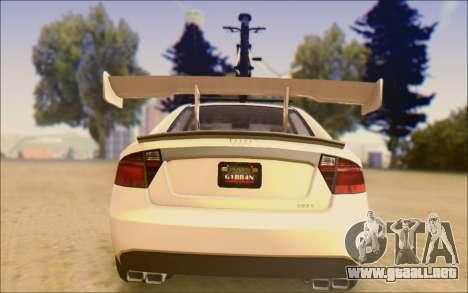 Obey Tailgater Special Tuning para la visión correcta GTA San Andreas