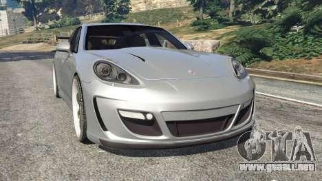 Porsche Panamera Turbo 2010 para GTA 5