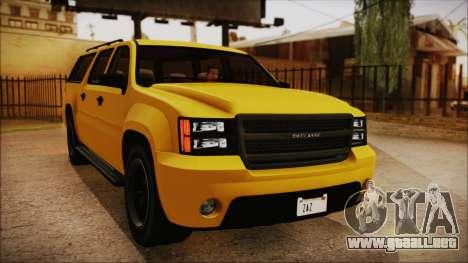 GTA 5 Declasse Granger IVF para la visión correcta GTA San Andreas