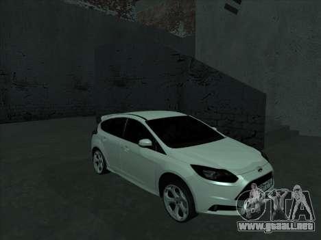 Ford Focus ST barbadas para GTA San Andreas vista hacia atrás