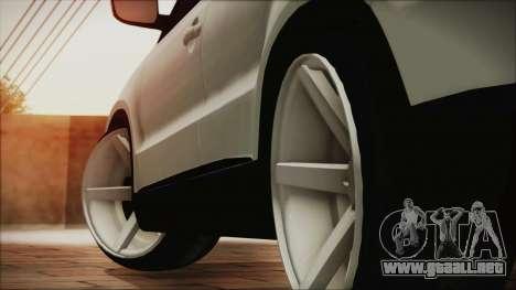 Volkswagen Tiguan Vossen Edition para GTA San Andreas vista posterior izquierda