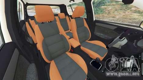 GTA 5 Volkswagen Golf Mk6 v2.0 [Stripes] vista lateral derecha
