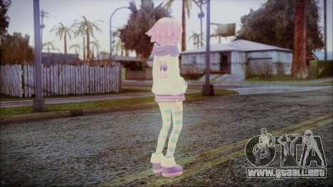 Neptune Re Birth [Hyperdimension Neptunia] para GTA San Andreas tercera pantalla
