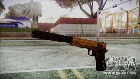 Original Colt 45 Silenced HD para GTA San Andreas segunda pantalla