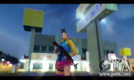 Oppai Boing Boing ENB para GTA San Andreas quinta pantalla
