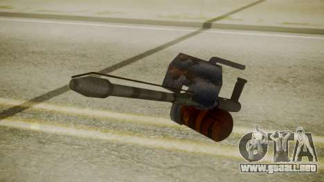 GTA 5 Flame Thrower para GTA San Andreas tercera pantalla