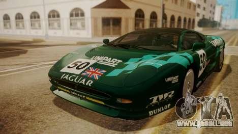 Jaguar XJ220 1992 FIV АПП para las ruedas de GTA San Andreas