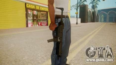 GTA 5 MP5 para GTA San Andreas tercera pantalla