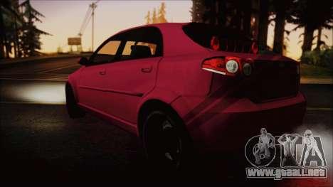 Chevrolet Aveo para GTA San Andreas left