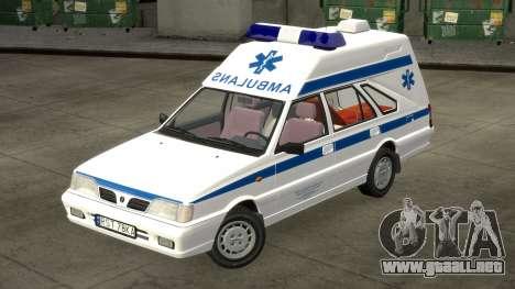 Daewoo-FSO Polonez de Carga de Ambulancias de 19 para GTA 4