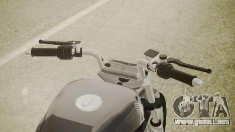 Honda Titan CG150 Stunt para la visión correcta GTA San Andreas
