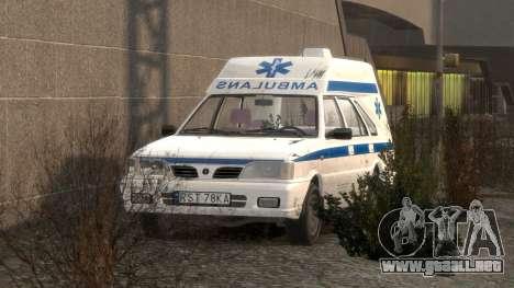 Daewoo-FSO Polonez de Carga de Ambulancias de 19 para GTA 4 interior