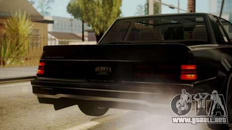 GTA 5 Faction Stock DLC LowRider para vista inferior GTA San Andreas