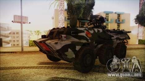 Norinco Type 92 from Mercenaries 2 para GTA San Andreas