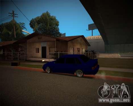 VAZ-2115 para GTA San Andreas left