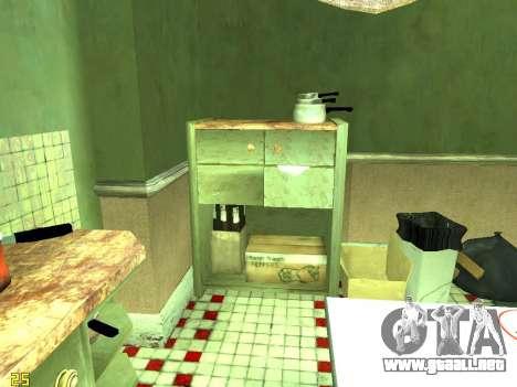 Apartamento de GTA IV para GTA San Andreas novena de pantalla