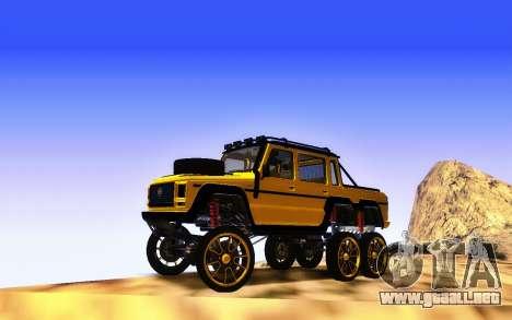 Benefactor Dubsta 6x6 Tuning Personalizado para GTA San Andreas