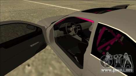 Lexus SC 300 Drift para visión interna GTA San Andreas