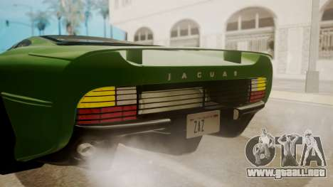 Jaguar XJ220 1992 FIV АПП para la vista superior GTA San Andreas