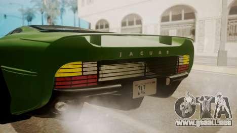 Jaguar XJ220 1992 FIV АПП para la vista superior GTA San Andreas
