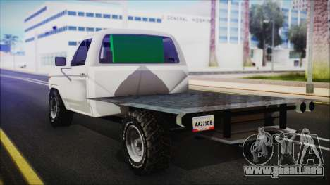 Ford F-150 Con Sonido para GTA San Andreas left