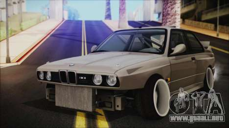BMW M3 E30 Camber para GTA San Andreas