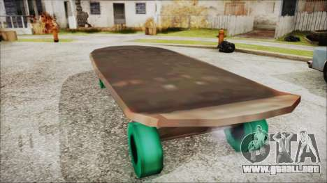 Giant Skateboard para GTA San Andreas left