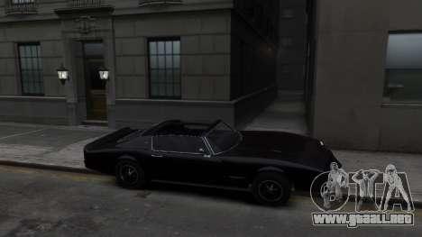 Classic Muscle Phoenix IV para GTA 4 vista hacia atrás