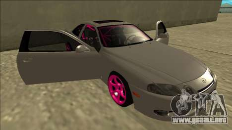 Lexus SC 300 Drift para vista inferior GTA San Andreas