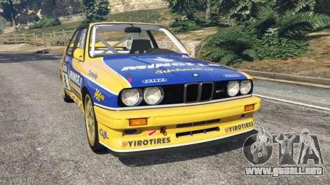 BMW M3 (E30) 1991 [Mingelo] v1.2 para GTA 5
