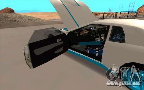 Elegy DRIFT KING GT-1 para el motor de GTA San Andreas