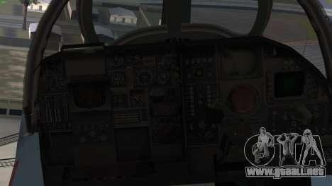 Northrop Grumman EA-6B Prowler VAQ-129 para la visión correcta GTA San Andreas