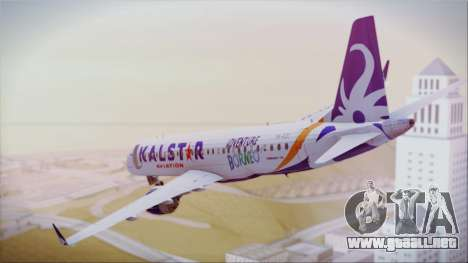 E-195 KalStar Aviation para GTA San Andreas left