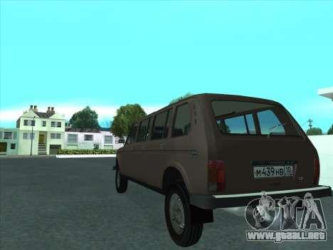 VAZ 2131 Samudera para la visión correcta GTA San Andreas